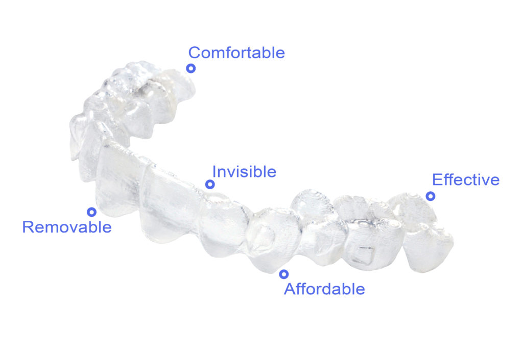 Invisalign clear braces on Long Island, NY for kids, teens and adults