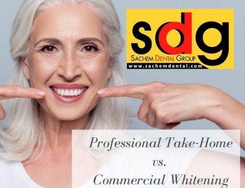 Professional Take Home Whitening Kit vs. Commercial Whitening