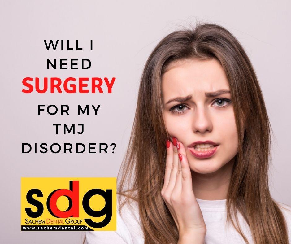 TMJ surgery alternative